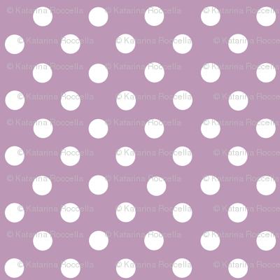 dots lilac