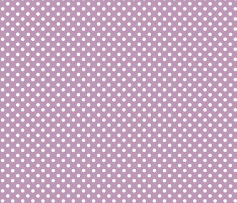 dots lilac fabric by katarina on Spoonflower - custom fabric