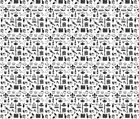 MardiGras fabric by outside_the_line on Spoonflower - custom fabric