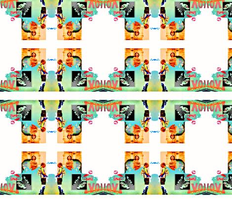 x-ed-ed-ed fabric by nicole_clark on Spoonflower - custom fabric