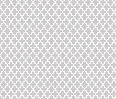 Light Gray Moroccan fabric by sweetzoeshop on Spoonflower - custom fabric