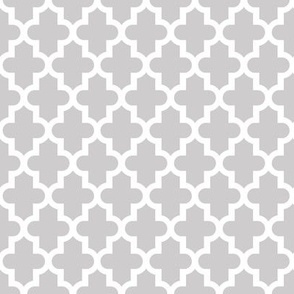 Light Gray Moroccan