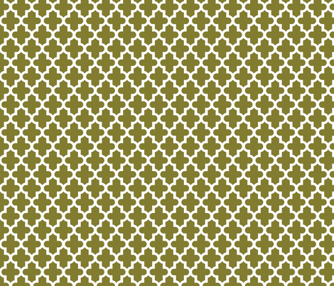 Olive Green Moroccan fabric by sweetzoeshop on Spoonflower - custom fabric
