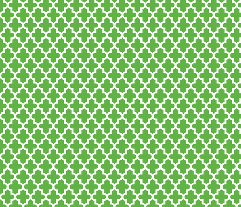 Kelly Green Moroccan fabric by sweetzoeshop on Spoonflower - custom fabric