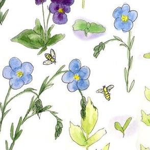 Blue Flax Garden