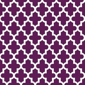 Plum Purple Moroccan