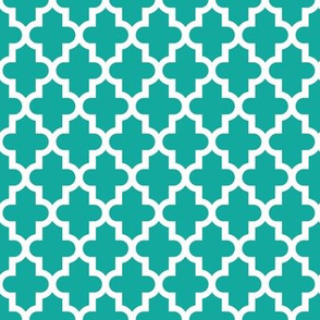 Teal Moroccan