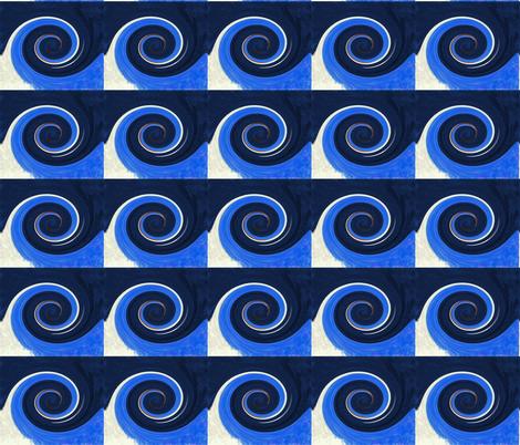 A Wave's Twirl fabric by egprestonhouse on Spoonflower - custom fabric