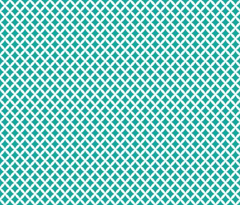 Teal Modern Diamonds fabric by sweetzoeshop on Spoonflower - custom fabric