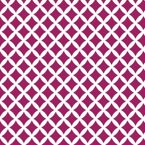 Berry Purple Modern Diamonds