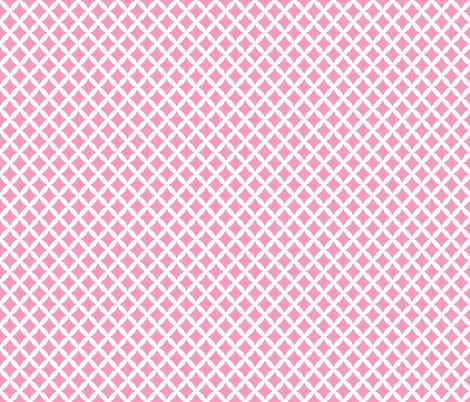 Bubblegum Pink Modern Diamonds fabric by sweetzoeshop on Spoonflower - custom fabric