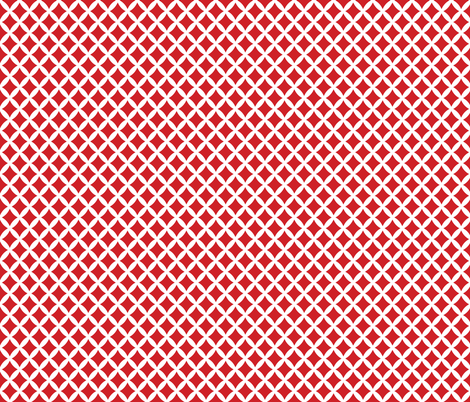 Red Modern Diamonds fabric by sweetzoeshop on Spoonflower - custom fabric