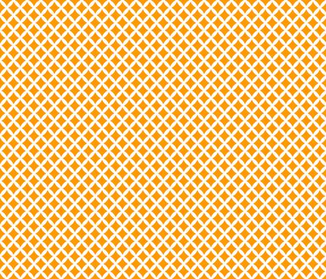 Orange Modern Diamonds fabric by sweetzoeshop on Spoonflower - custom fabric