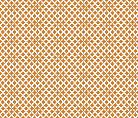 Burnt Orange Modern Diamonds fabric by sweetzoeshop on Spoonflower - custom fabric