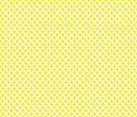 Yellow Modern Diamonds fabric by sweetzoeshop on Spoonflower - custom fabric