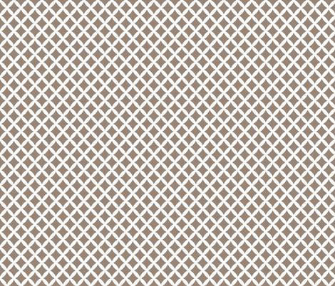 Mocha Brown Modern Diamonds fabric by sweetzoeshop on Spoonflower - custom fabric