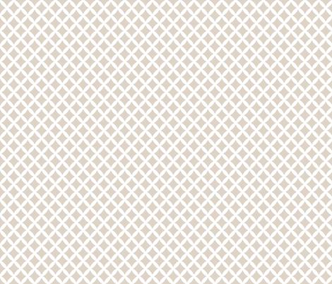 Linen Beige Modern Diamonds fabric by sweetzoeshop on Spoonflower - custom fabric
