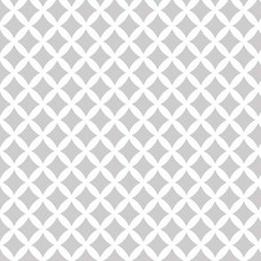 Light Gray Modern Diamonds