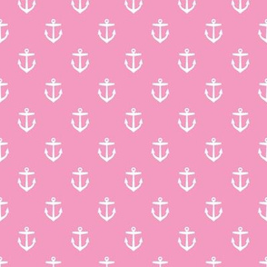 Bubblegum Pink Anchors