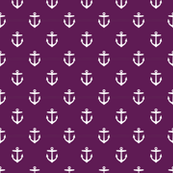 Plum Purple Anchors