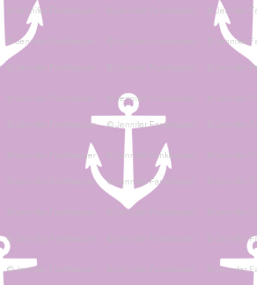 Lilac Purple Anchors