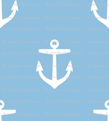 Sky Blue Anchors