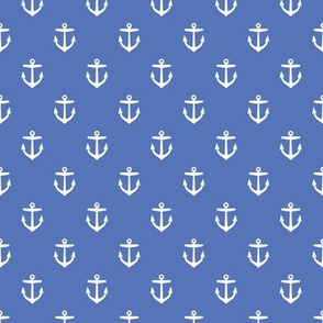 Royal Blue Anchors