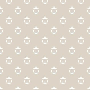 Linen Beige Anchors