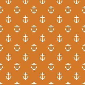 Burnt Orange Anchors