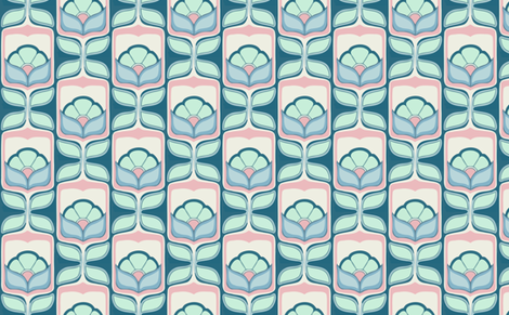 new flowers fabric by myracle on Spoonflower - custom fabric