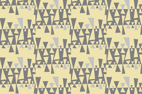 triangles5 fabric by knorberg on Spoonflower - custom fabric