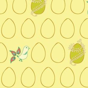 Egg & Chick Yellow