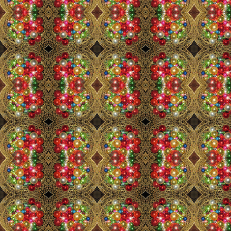 Christmas Balls fabric by taztige on Spoonflower - custom fabric