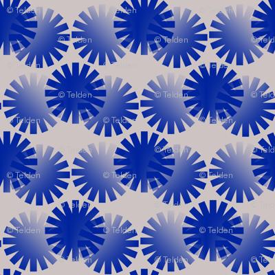 Blue Circles Abstract
