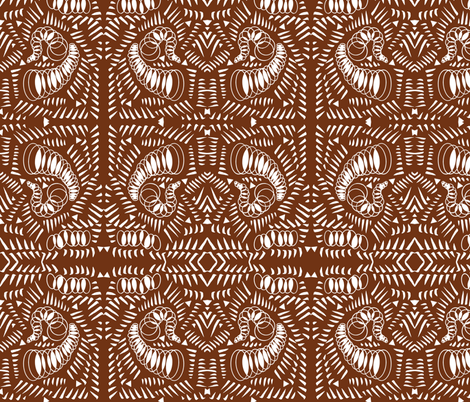 Strokes and Springs Abstract fabric by telden on Spoonflower - custom fabric