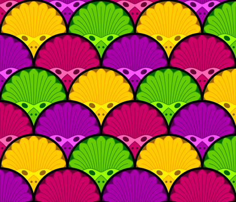 masquerade fabric by sef on Spoonflower - custom fabric
