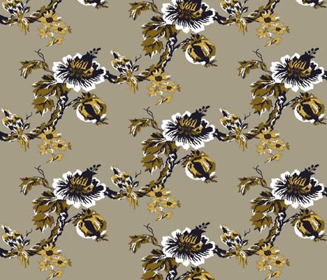 Botanical Tree / Embassy fabric by paragonstudios on Spoonflower - custom fabric