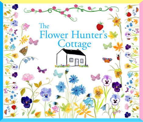 The Flower Hunter's Cottage Quilt fabric by de-ann_black on Spoonflower - custom fabric