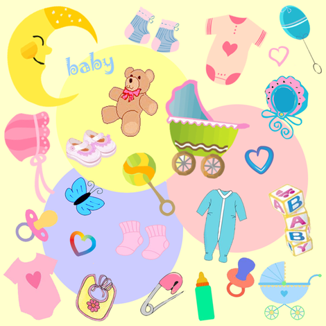 baby fabric by krs_expressions on Spoonflower - custom fabric