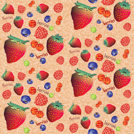 berries fabric by krs_expressions on Spoonflower - custom fabric