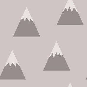 lunar mountain range