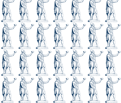 Odysseus Proposes a Toast fabric by amyvail on Spoonflower - custom fabric