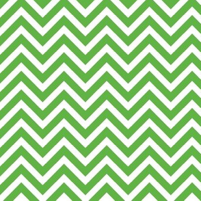 Kelly Green Chevron