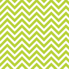 Apple Green Chevron