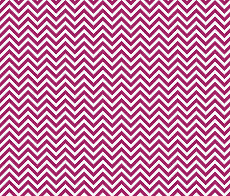 Berry Purple Chevron fabric by sweetzoeshop on Spoonflower - custom fabric