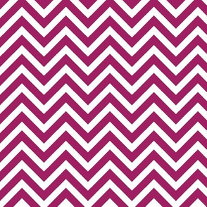 Berry Purple Chevron