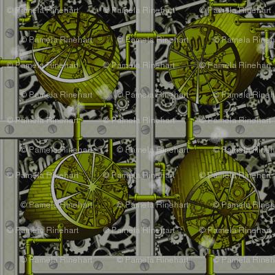 Steampunk Limes - Full Steam Ahead