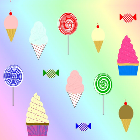 Sweeties_entry fabric by ascphotos&designs on Spoonflower - custom fabric