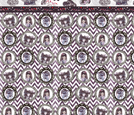 my_wonderland_half_yard fabric by katarina on Spoonflower - custom fabric