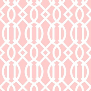 Light Pink Trellis